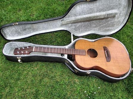 A more curvy acoustic guitar from 1988