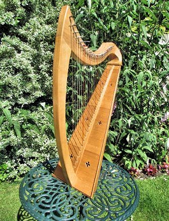 A harp made in 1990