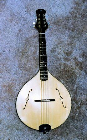 Two mandolins made in 1997